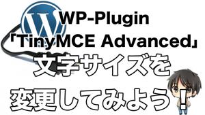 ビジュアルエディタのボタンをカスタマイズできるプラグイン|TinyMCE Advanced
